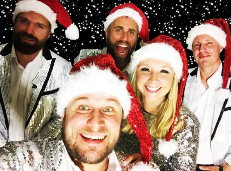 julbord julshow band goteborg