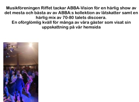 vision ABBA Tribute Review
