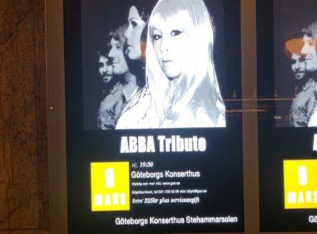 Vision Abba Tribute Göteborg Konserthus