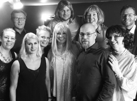 Vision ABBA Tribute Backstage