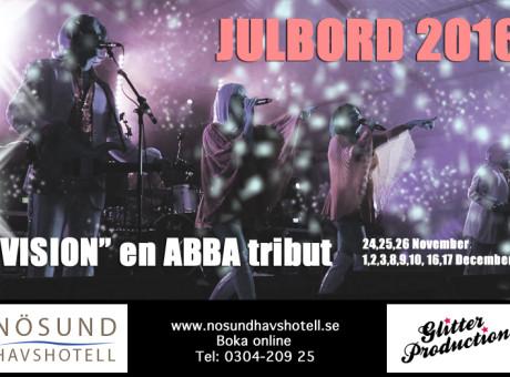 ABBA Tribute Vision Julshow