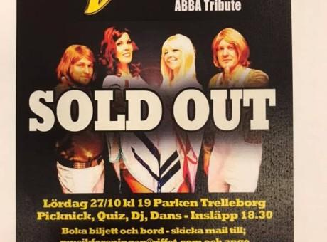 Vision ABBA Tribute Parken Trelleborg