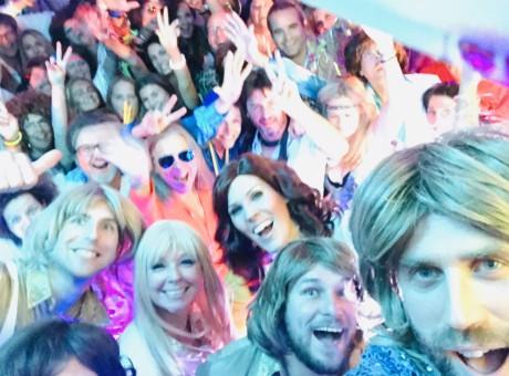 Vision ABBA Tribute Selfie