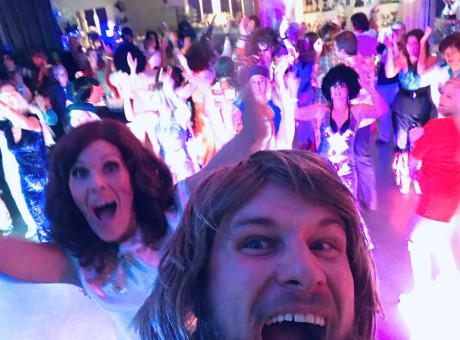 Vision ABBA Tribute dance floor